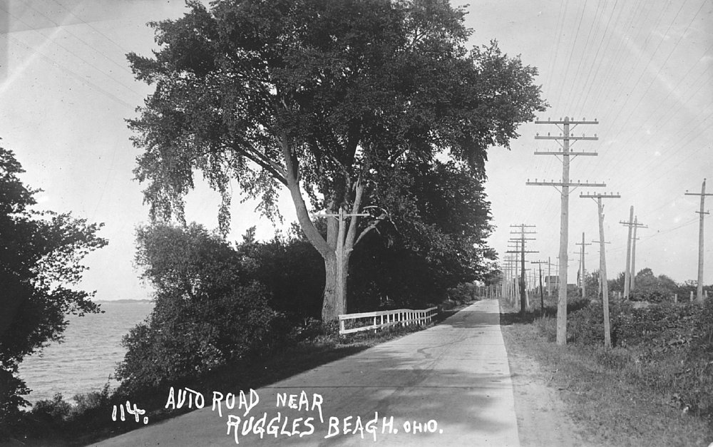 Lake Road And Lse Near Ruggles Beach This Old Section Of The Has Since Fallen Into Ernst Neibergall Photo