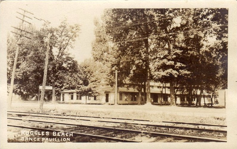 Lse Tracks And Ping Siding Are Visible In This View Of The Dance Pavillion On Lake Road Drew Penfield